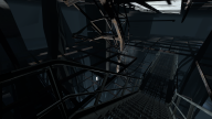 Underneath GLaDOS's chamber