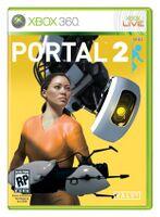 Portal 2 Concept box art design