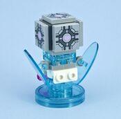 LEGO Companion Cube minifig