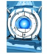 Wheatley image from the official Aperture Science Collaborative Disposition Test.