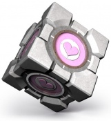 Companion Cube as seen in The Final Hours of Portal 2.