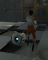 Chell and Wheatley Size Comparison.png