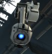 Wheatley attached to his rail.
