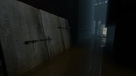 The tunnel beneath the Test Chamber